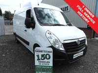 USED 2015 15 VAUXHALL MOVANO 2.3 F3500 L2H2 P/V CDTI 1 OWNER FROM NEW FSH  1 FLEET OWNER FULL SERVICE HISTORY