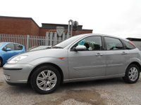 USED 2004 54 FORD FOCUS 1.6 GHIA 5d AUTO 99 BHP ONE FORMER KEEPER 60,000 MILES AUTOMATIC IMMACULATE