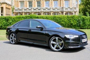 2014 AUDI A6 2.0 TDI S LINE BLACK EDITION 4d AUTO 175 BHP £16250.00