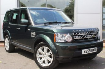 2010 LAND ROVER DISCOVERY 3.0 4 TDV6 GS 5d AUTO 245 BHP £12489.00