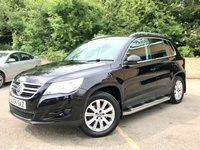 2009 VOLKSWAGEN TIGUAN 2.0 SE 4MOTION TDI 5d FULL LEATHER, HEATED SEATS, SIDE STEPS £7990.00
