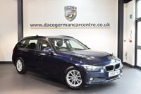 USED 2015 15 BMW 3 SERIES 2.0 320D EFFICIENTDYNAMICS BUSINESS TOURING 5DR AUTO 161 BHP + FULL BLACK LEATHER INTERIOR + FULL BMW SERVICE HISTORY + 1 OWNER FROM NEW + PRO SATELLITE NAVIGATION + BLUETOOTH + HEATED SEATS + DAB RADIO + CRUISE CONTROL + RAIN SENSORS + PARKING SENSORS + 16 INCH ALLOY WHEELS +