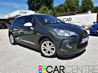 USED 2012 62 CITROEN DS3 1.6 DSTYLE 3d 120 BHP 1 PREVIOUS OWNER + SERVICE HIS