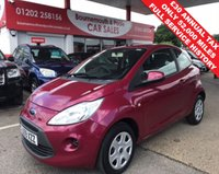 USED 2009 59 FORD KA 1.2 STYLE 3d 69 BHP **ONLY 52,000 MILES** F.S.H