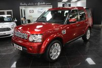 2012 LAND ROVER DISCOVERY 3.0 4 SDV6 HSE 5d AUTO 255 BHP £25999.00