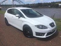 USED 2012 12 SEAT LEON 2.0 CR TDI FR 5d 140 BHP **STUNNING SEAT LEON FR IN WHITE**FULL SERVICE HISTORY**