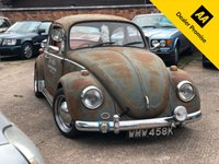USED 1972 VOLKSWAGEN BEETLE 1.2 1200 2DR HISTORIC VEHICLE Shabby Chic vintage look, Solid car.