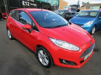 USED 2014 14 FORD FIESTA 1.2 ZETEC 3d 81 BHP CALL 01543 379066... 12 MONTHS MOT... 6 MONTHS WARRANTY... FULL SERVICE HISTORY