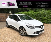 USED 2014 64 RENAULT CLIO 1.5 DYNAMIQUE S MEDIANAV DCI 5d 90 BHP 2 OWNERS FULL SERVICE HISTORY SAT NAV BLUETOOTH AUX USB CONNECT