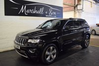USED 2015 15 JEEP GRAND CHEROKEE 3.0 V6 CRD OVERLAND 5d AUTO 247 BHP