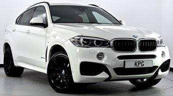 2015 BMW X6 3.0 30d M Sport Steptronic xDrive 5dr £33995.00