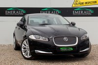 USED 2012 62 JAGUAR XF 2.2 D PORTFOLIO 4d AUTO 200 BHP £0 DEPOSIT FINANCE AVAILABLE, AIR CONDITIONING, BLUETOOTH CONNECTIVITY, CLIMATE CONTROL, CRUISE CONTROL, DAB RADIO, FULL LEATHER UPHOLSTERY, HEATED SEATS, MERIDIAN SURROUND SOUND, REVERSE CAMERA, SATELLITE NAVIGATION, STEERING WHEEL CONTROLS