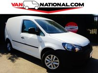 2013 VOLKSWAGEN CADDY 1.6 C20 TDI BLUEMOTION 75 BHP (one owner 2 services 12000 miles) £7450.00