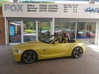 2006 BMW Z4 2.5 Z4 SI SPORT ROADSTER 2d 215 BHP £7995.00