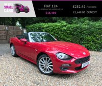 USED 2017 17 FIAT 124 1.4 SPIDER MULTIAIR LUSSO 2d 139 BHP 1 OWNER SAT NAV FULL LEATHER FULL FIAT SERVICE HISTORY REAR CAMERA
