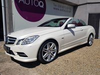 2012 MERCEDES-BENZ E CLASS 3.0 E350 CABRIOLET CDI BLUEEFFICIENCY SPORT 2d 265 BHP £17995.00