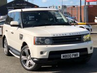 USED 2010 10 LAND ROVER RANGE ROVER SPORT 3.0 TDV6 HSE 5d AUTO 245 BHP *STUNNING FUJI WHITE RANGE ROVER SPORT*