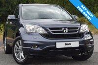 2011 HONDA CR-V 2.0 I-VTEC EX 5d AUTO 148 BHP £9990.00
