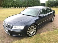 USED 2005 05 AUDI A8 3.0 TDI QUATTRO 4d AUTO 229 BHP FSH Top Spec 19s Full Audi And Specialist Service History, MOT 06/19, Top Spec, Drives And Looks Beautifully, Rare Unkerbed 19 In Alloys, Bose Surround Audio, Electric Opening And Closing Bootlid, Full Electric Adjust And Memory Seats, Full Leather Upholstery, F1 Style Paddle Shifters, X2 Keys, Sat Nav, Front And Rear Parking Sensors, Xenon Headlights, Air Suspension With Comfort And Dynamic And Sport Settings, Full Set Of Carpet Mats, X2 Keys, Drives And Looks Perfectly, You Will Not Be Dissapointed!!