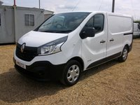 USED 2015 15 RENAULT TRAFIC 1.6 SL29 BUSINESS DCI S/R P/V 1d 115 BHP 62000 MILES ONE OWNER FROM NEW SAT/NAV