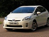 USED 2010 10 TOYOTA PRIUS 1.8 T SPIRIT VVT-I 5d AUTO 99 BHP