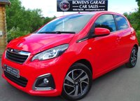 USED 2014 64 PEUGEOT 108 1.2 ALLURE 5d 82 BHP Low Miles - £0 Road Tax - 3 Services - Top Spec