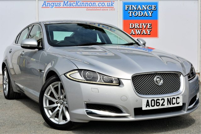 2012 62 JAGUAR XF 2.2 D LUXURY 4d AUTO 190 BHP