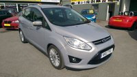 2011 FORD C-MAX 2.0 TITANIUM TDCI 5 DOOR AUTOMATIC 138 BHP IN SILVER WITH ONLY 62000 MILES £6499.00