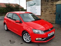 USED 2015 15 VOLKSWAGEN POLO 1.4 SE TDI BLUEMOTION 5d 74 BHP ONE Owner FULL VW Service History ZERO Rate Road Tax