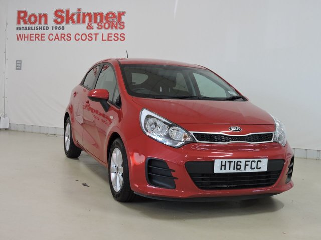 View our 2016 16 KIA RIO 1.2 SR7 5d 83 BHP
