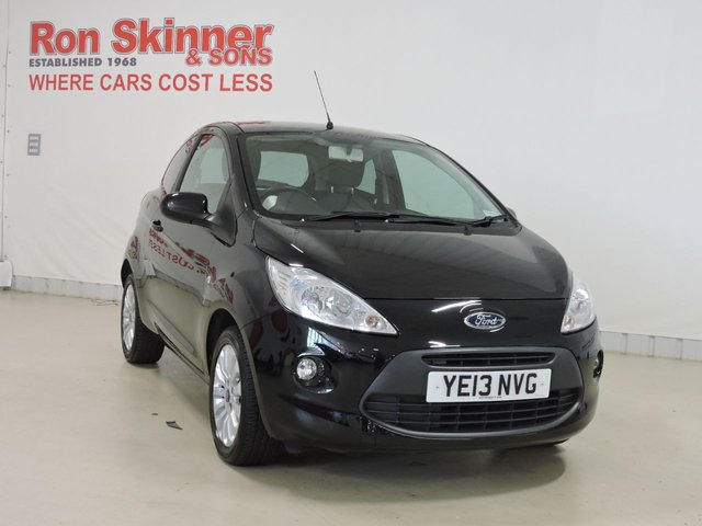 View our 2013 13 FORD KA 1.2 ZETEC 3d 69 BHP