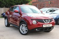USED 2011 61 NISSAN JUKE 1.6 ACENTA SPORT 5d 117 BHP **** BLUETOOTH * AIR CON * ONE PREVIOUS OWNER ****