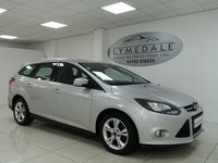 USED 2013 13 FORD FOCUS 1.6 ZETEC ECONETIC TDCI 5d 104 BHP 1 OWNER, FULL FORD HISTORY, ZERO ROAD TAX