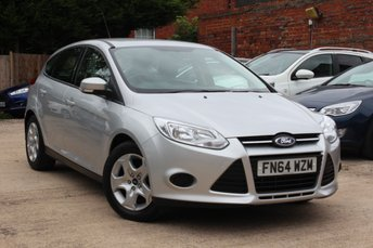 2014 FORD FOCUS 1.6 EDGE 5d 104 BHP £7495.00