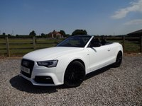 USED 2015 15 AUDI A5 2.0 TDI S LINE SPECIAL EDITION PLUS 2d 175 BHP ONLY 1 LADY OWNER FROM NEW WITH FULL AUDI SERVICE HISTORY