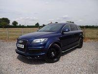 2012 AUDI Q7 3.0 TDI QUATTRO S LINE PLUS 5d AUTO 245 BHP £20990.00