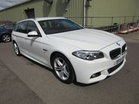 2015 BMW 5 SERIES 2.0 520D M SPORT TOURING 5d AUTO 190 BHP £19995.00