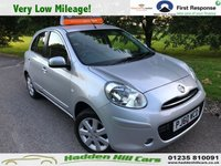 USED 2011 60 NISSAN MICRA 1.2 ACENTA 5d 79 BHP Very Low Mileage!