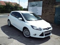 USED 2012 62 FORD FOCUS 1.0 ZETEC 5d 124 BHP One Former Owner