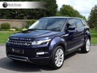 USED 2013 63 LAND ROVER RANGE ROVER EVOQUE 2.2 SD4 PURE TECH 5d 190 BHP PANORAMIC SUNROOF