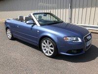 2006 AUDI A4 4.2 V8 S4 QUATTRO AUTO 339 BHP CABRIOLET CONVERTIBLE £7995.00
