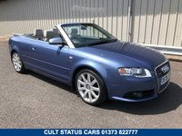USED 2006 06 AUDI A4 4.2 V8 S4 QUATTRO AUTO 339 BHP CABRIOLET CONVERTIBLE FSH, HEATED LEATHER SEATS, BOSE, SAT NAV