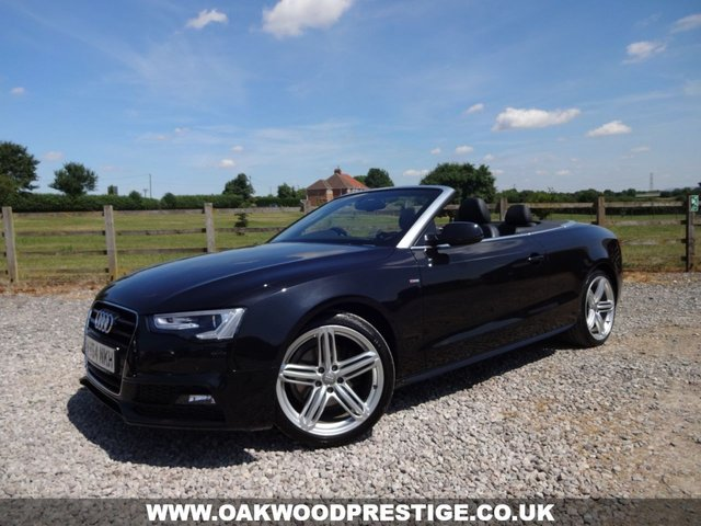 2014 64 AUDI A5 2.0 TDI S LINE SPECIAL EDITION 2d 175 BHP