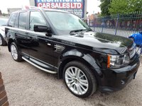 USED 2012 62 LAND ROVER RANGE ROVER SPORT 3.0 SDV6 HSE 5d AUTO 255 BHP BIEGE LEATHER INTERIOR, COLOUR SCREEN SAT , F.S.H, ALLOYS, GREAT VALUE