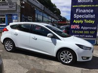 2014 FORD FOCUS 1.5 TITANIUM TDCI 5d 118 BHP, ONLY 27000 MILES, 1 OWNER £9995.00
