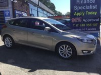 USED 2015 15 FORD FOCUS 1.6 TITANIUM 5d AUTO 124 BHP, ONLY 8000 MILES, 1 OWNER ***GREAT FINANCE DEALS AVAILABLE***