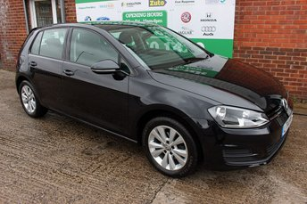 2014 VOLKSWAGEN GOLF 1.6 SE TDI BLUEMOTION TECHNOLOGY 5d 103 BHP £7799.00