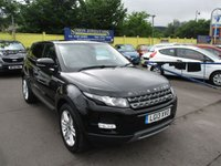 USED 2013 13 LAND ROVER RANGE ROVER EVOQUE 2.2 SD4 PURE TECH 5d 190 BHP GREAT VALUE RANGE ROVER EVOQUE WITH LOVELY SPEC !!