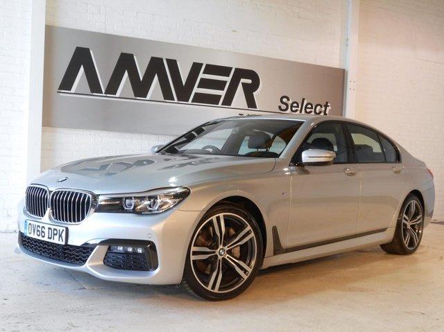 2016 66 BMW 7 SERIES 3.0 730D M SPORT 4d AUTO 261 BHP