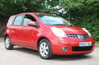 2007 NISSAN NOTE 1.6 ACENTA 5d 109 BHP £2450.00